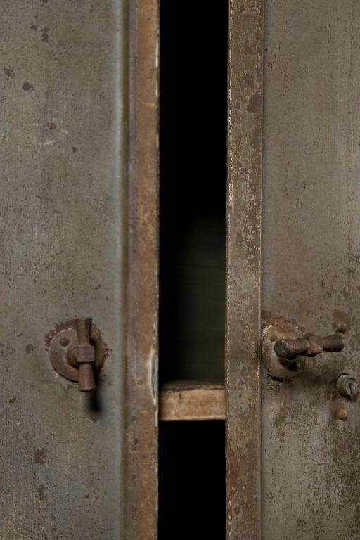Industrial Belgium Two Door Cabinet 2