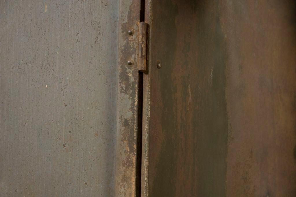Industrial Belgium Two Door Cabinet 5