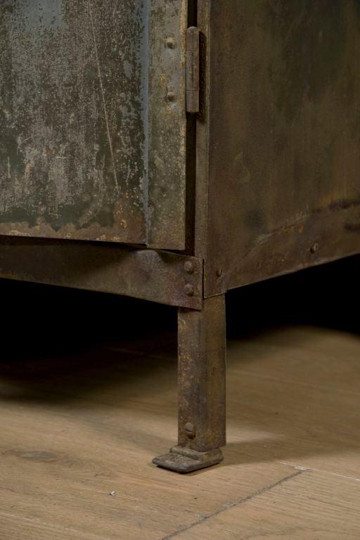 Industrial Belgium Two Door Cabinet 6