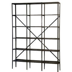 A Wall Industrial Book Rack thumbnail 1