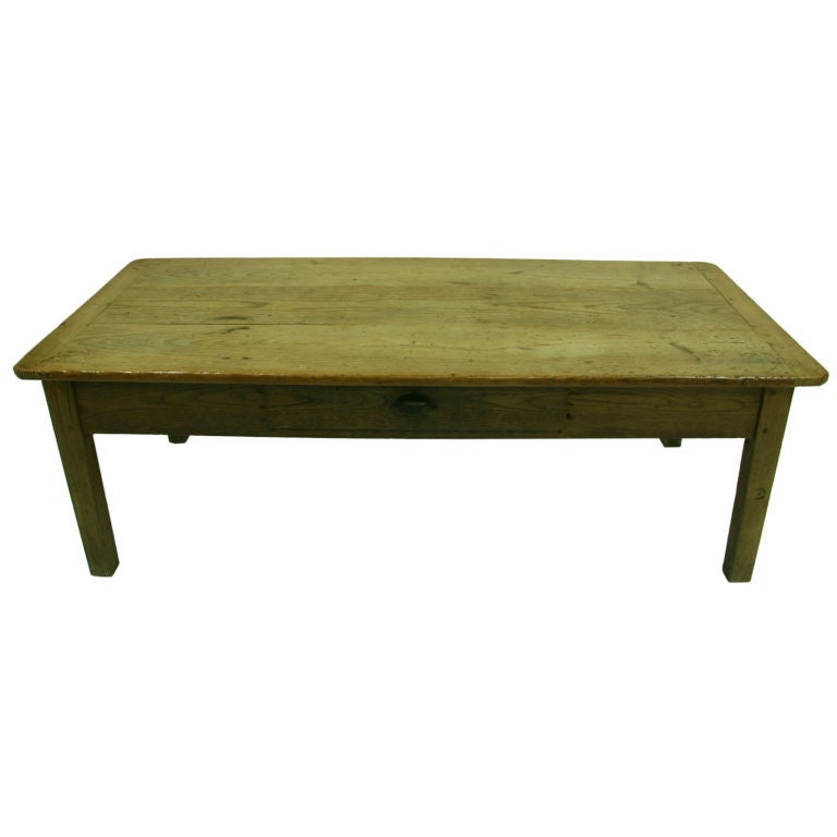 great 19th century french pine top farm table at 1stdibs