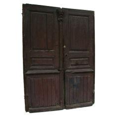18th Century French Exterior Doors Original Hardware