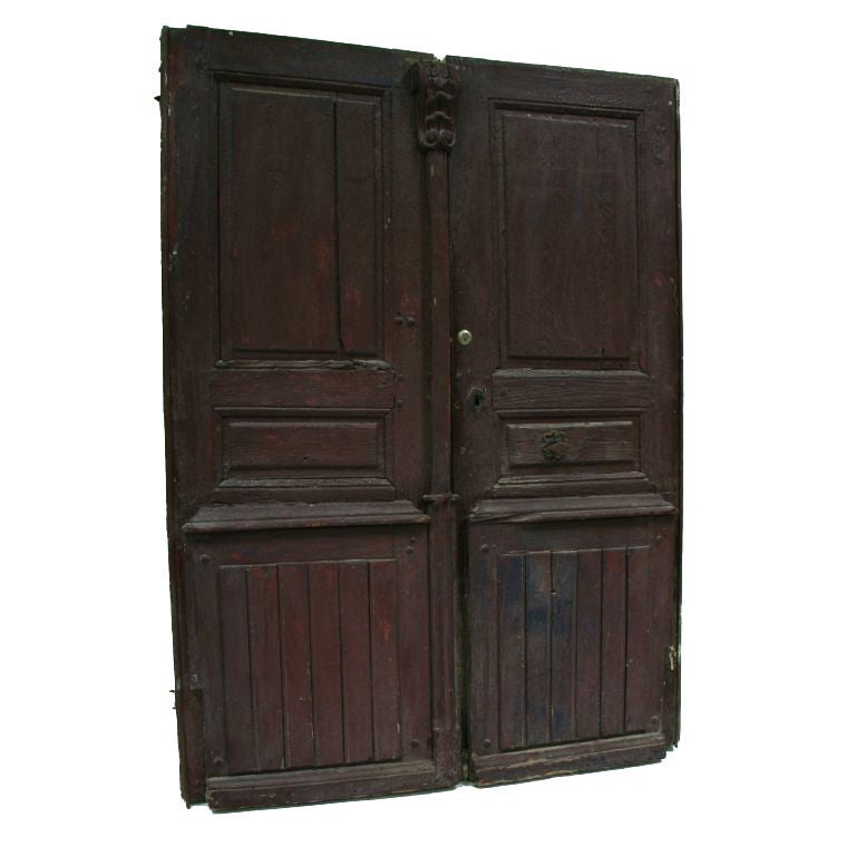 18th century french exterior doors original hardware at for 4ft french doors exterior