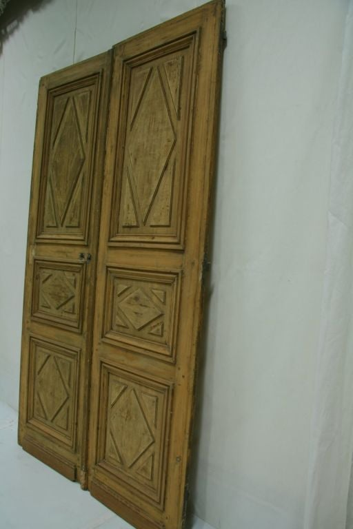 18th Century French Pine Entry Doors At 1stdibs