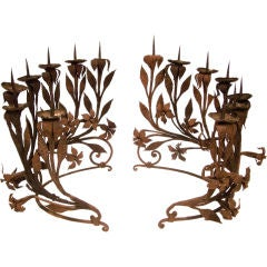 18th Century Italian Candle Holders
