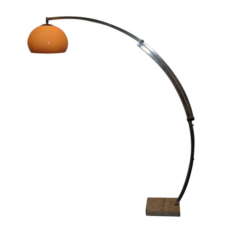 Guzzini Arch Floor Lamp At 1stdibs