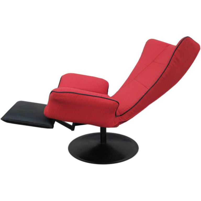 Contemporary Italian Recliner Chair At 1stdibs