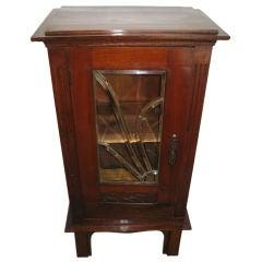 Art Nouveau Glass Cabinet