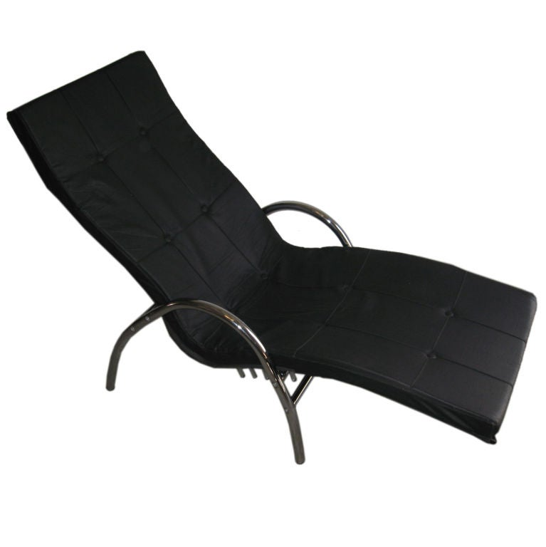 Italian chaise longue at 1stdibs for 1 zitsbank met chaise longue