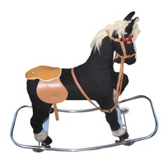 Deco Toy Horse on Wheels