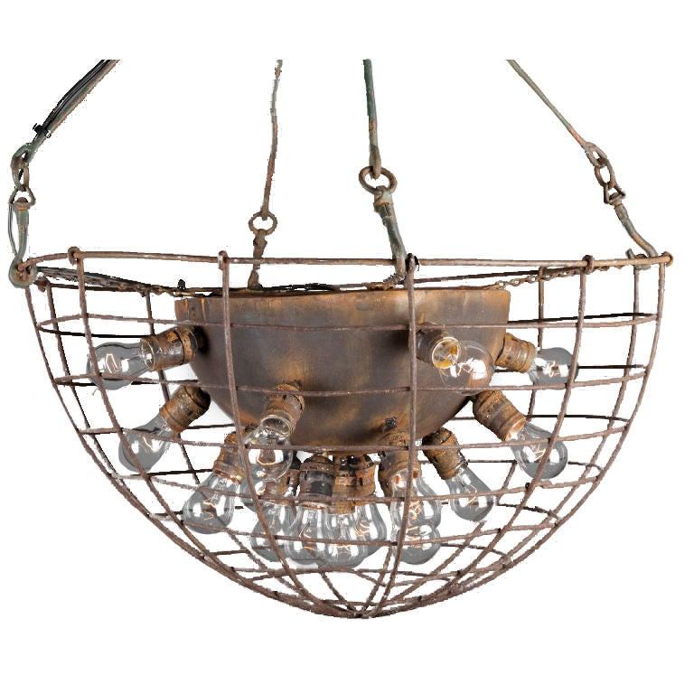 Industrial chandelier at 1stdibs - Spectacular modern pendant lighting fixtures as center of attention ...