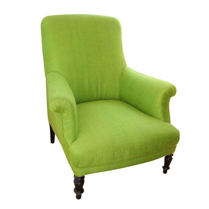 Napoleon Iii Club Chair At 1stdibs