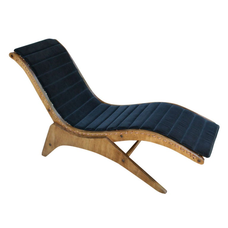 50 39 s chaise longue by jose zanine caldas at 1stdibs for Chaise 50 cm