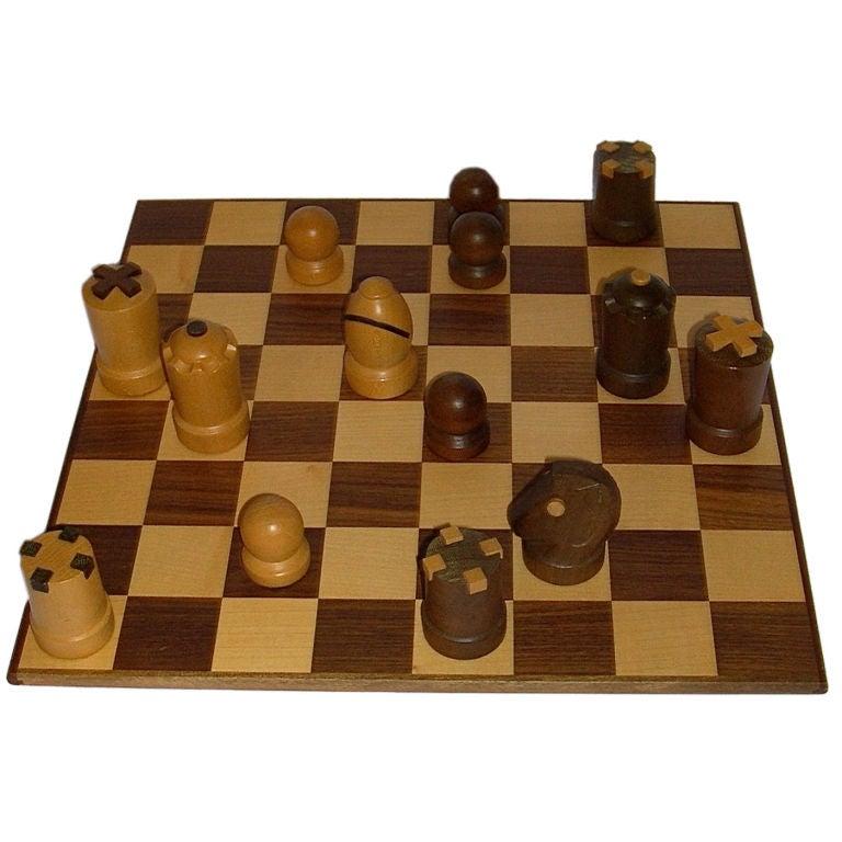 modern staunton chess set by arthur elliott for arni in