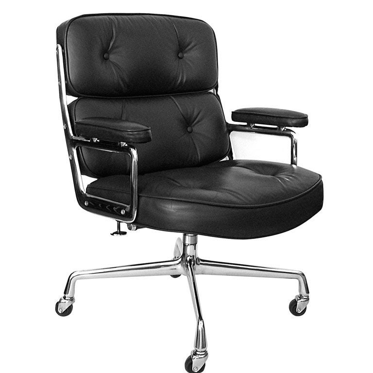 eames time life executive office chair in original leather