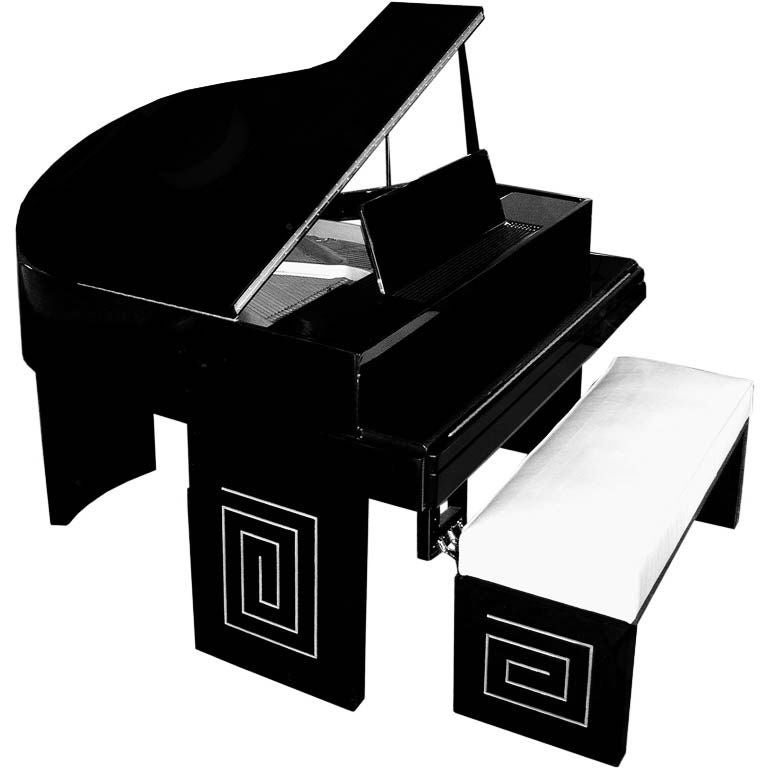 1000 images about art deco and modern pianos on pinterest for Piani art deco
