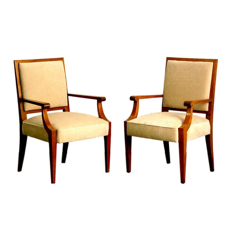 BLEND INTERIORS - André Arbus - Pair of classic French 40\'s