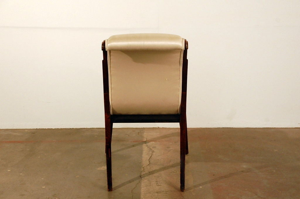 Elegant Art Deco side chair 5