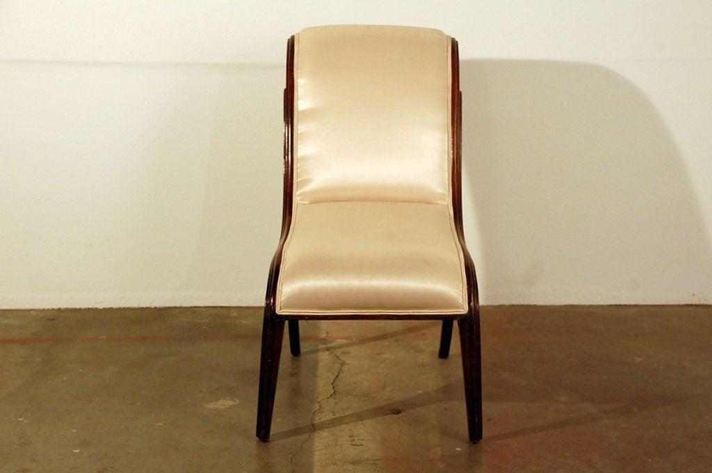 Elegant Art Deco side chair 6