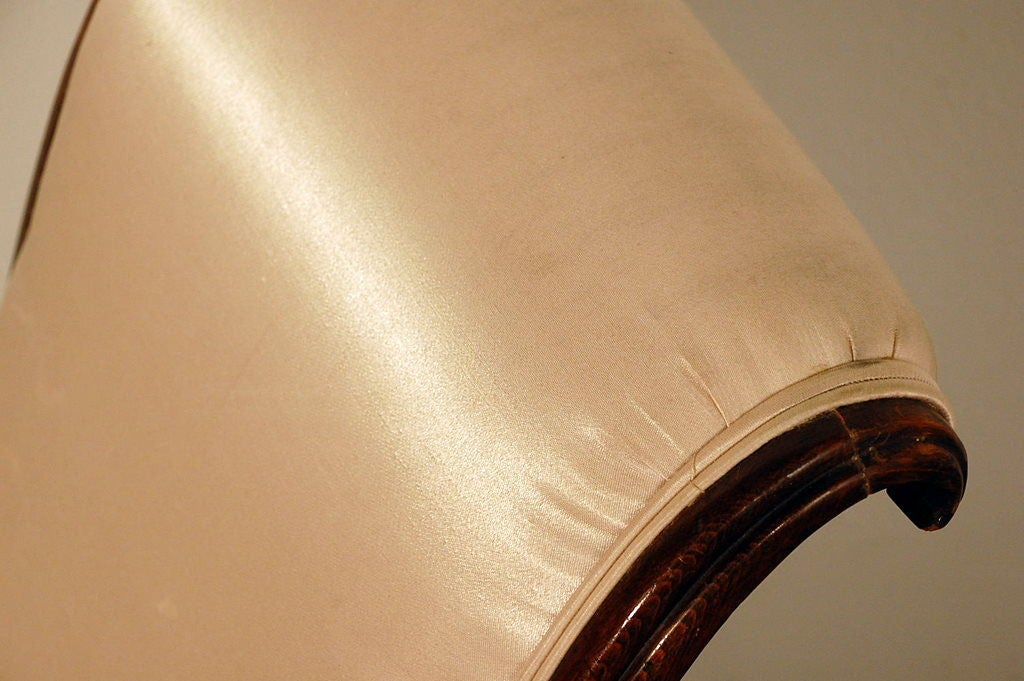 Elegant Art Deco side chair 7