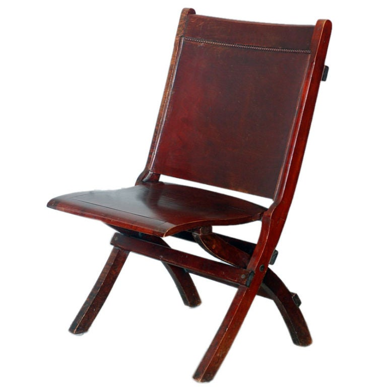Comfortable theater folding chair at 1stdibs for Comfortable chairs