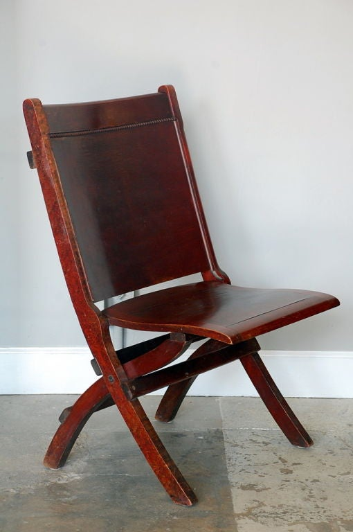 fortable theater folding chair at 1stdibs