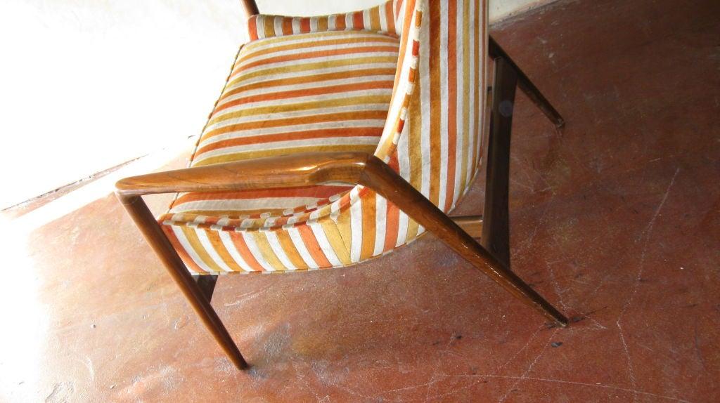 Single danish armchair at 1stdibs for Single armchairs