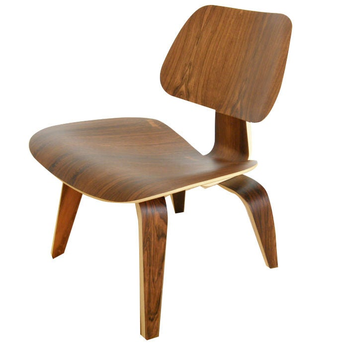 charles eames rosewood lounge chair at 1stdibs. Black Bedroom Furniture Sets. Home Design Ideas
