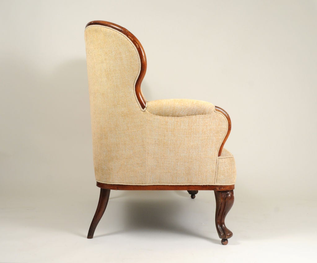 19th Century Belgian Bentwood Settee For Sale