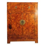 Early 20th Century Chinese Parquetry Inlay Cabinet