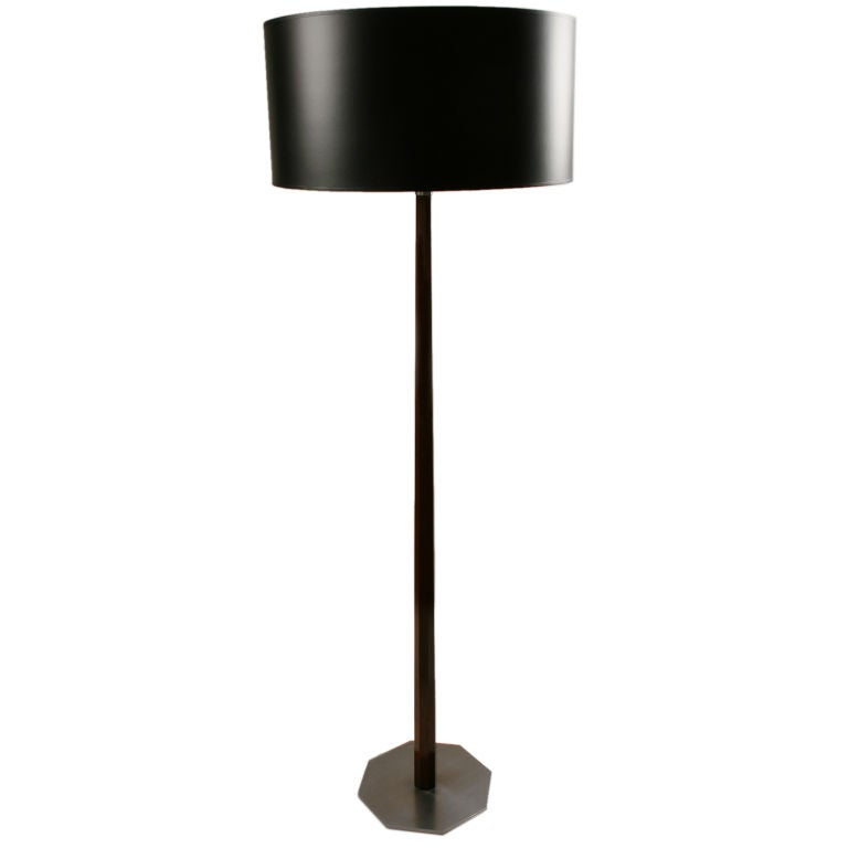 this unusual hansen wooden floor lamp is no longer available