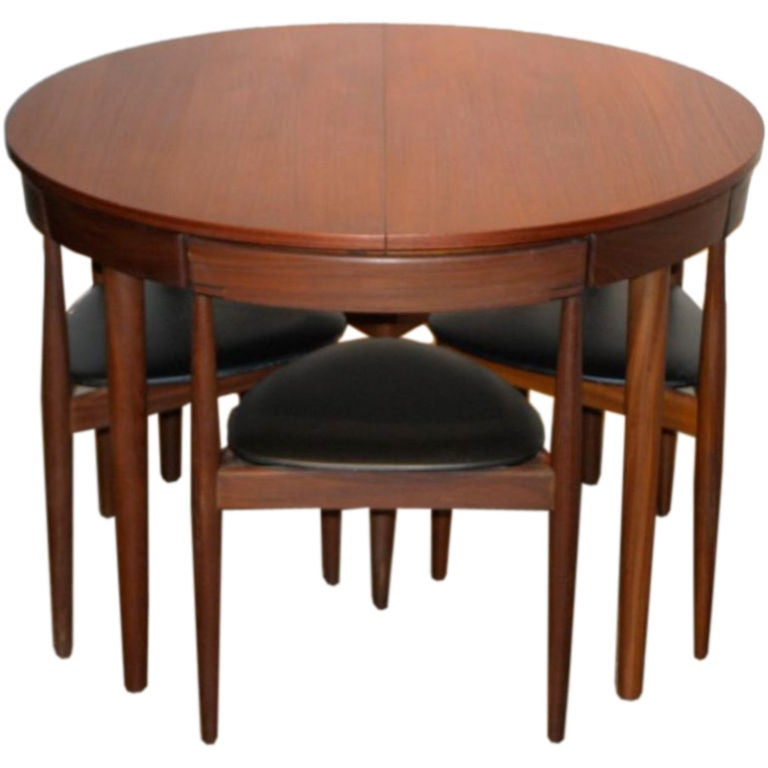Hans Olsen Dining Set With 6 Chairs 1