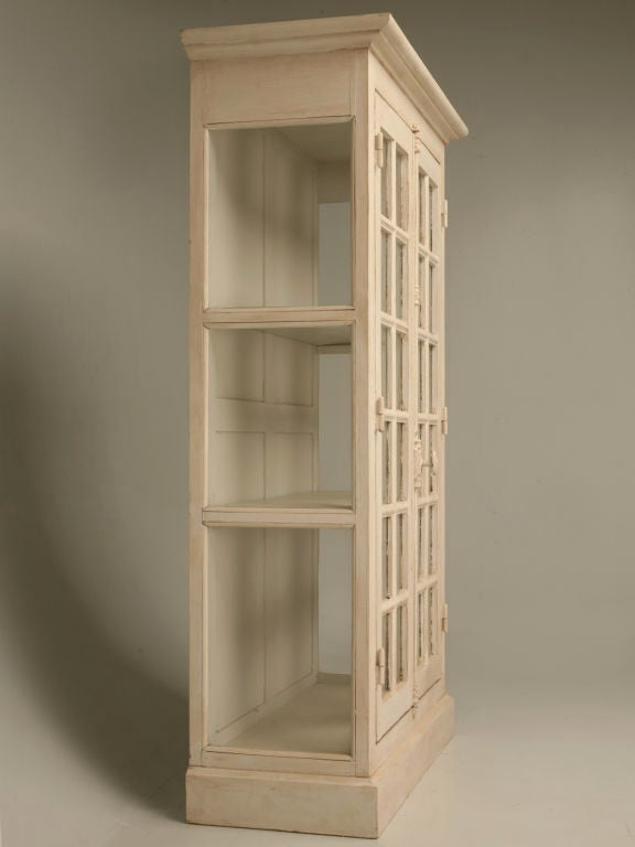 Antique French Door Bibliotheque/China Cabinet 2