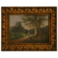 Wonderful Early 20th C. Oil on Canvas by Baldy