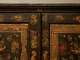 Handmade Country English Folk Art Découpage Cupboard image 4