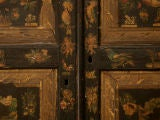 Handmade Country English Folk Art Découpage Cupboard image 7