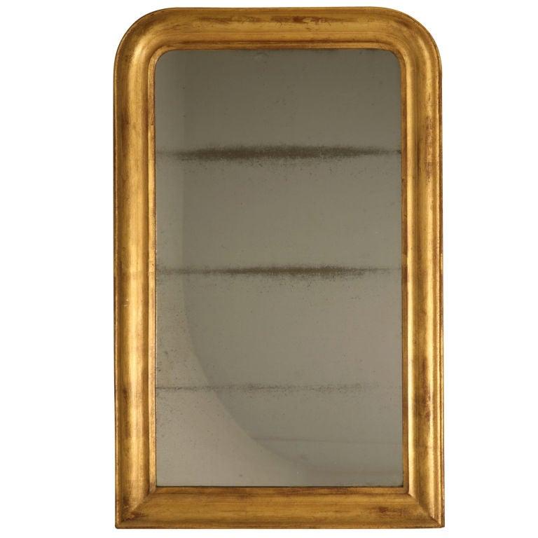 French Louis Philippe Gilt Mirror, circa 1850