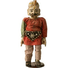 c.1910 Antique English Wooden Merchant Doll