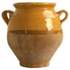 c.1880 Petite Original Antique French Confit Pot