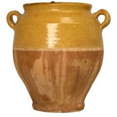 c.1900 Antique French Confit Pot