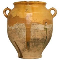 c.1880 Antique French Confit Pot