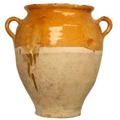 c.1890 Antique French Confit Pot