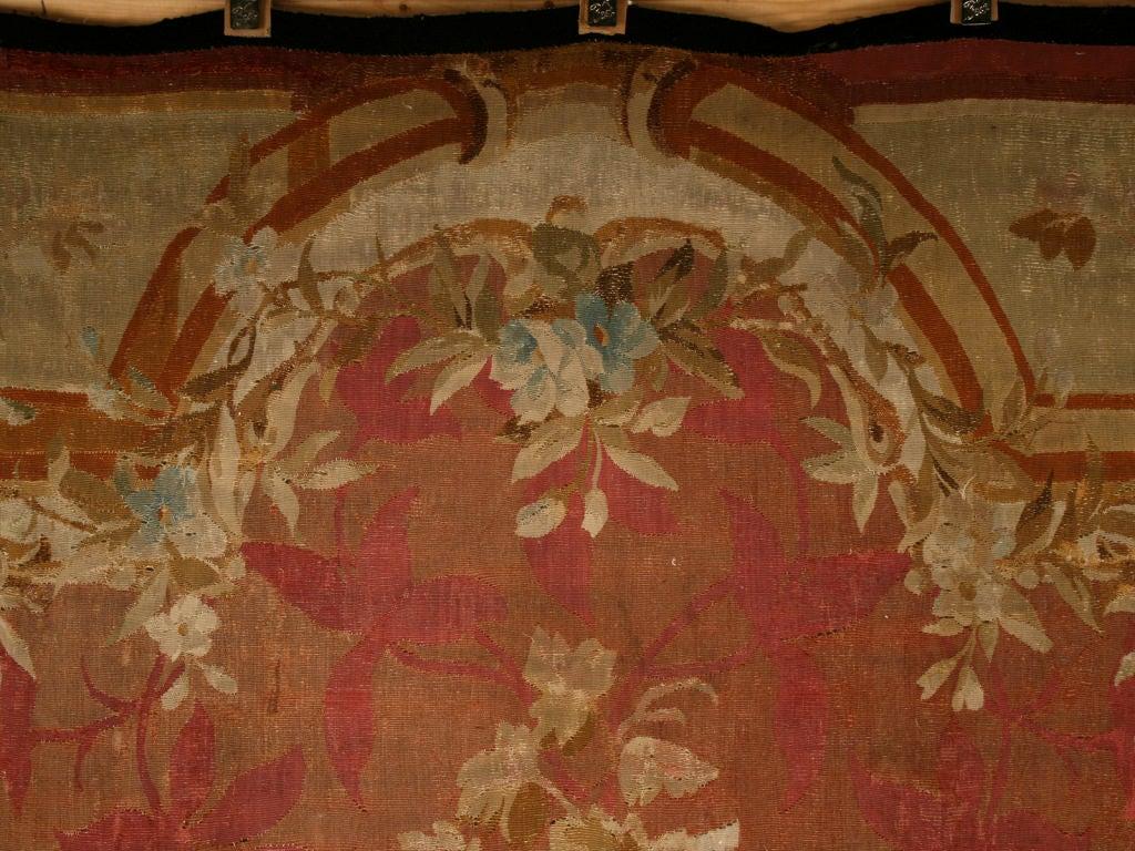 Palatial Original Antique French Aubusson Rug Circa 1830
