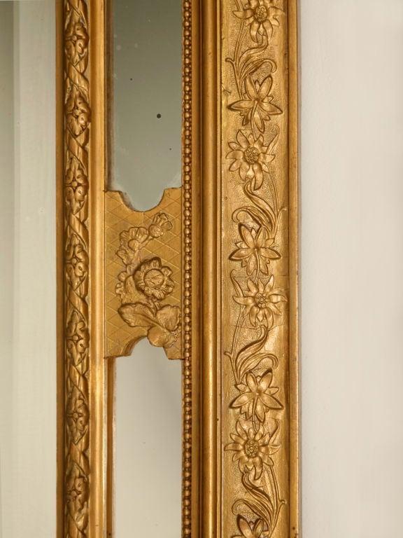 Foyer Mirror Jewelry : C exquisite antique french beveled gilt foyer mirror