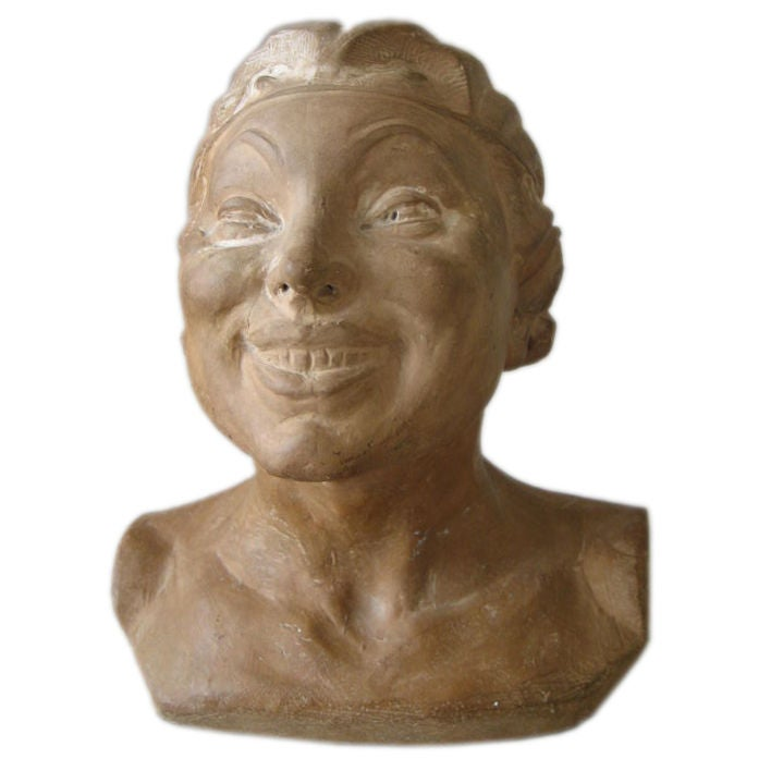 French Ceramic Devil Woman At 1Stdibs-4998