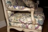A French Louis XV Style Painted Settee image 8