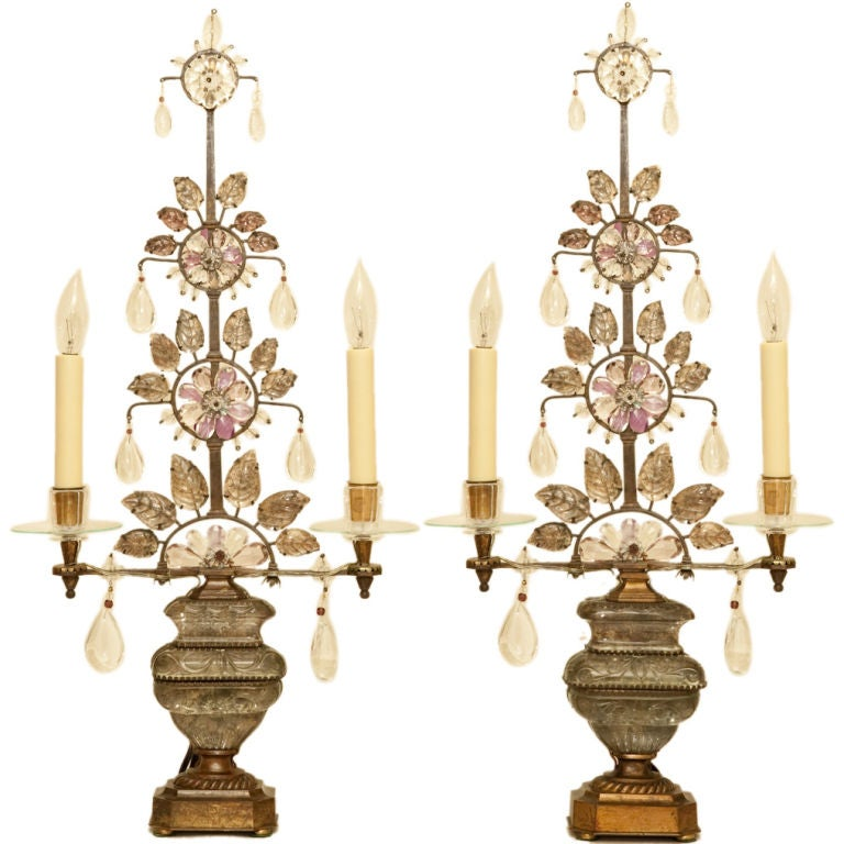 A Pair of French Bagues Girandoles