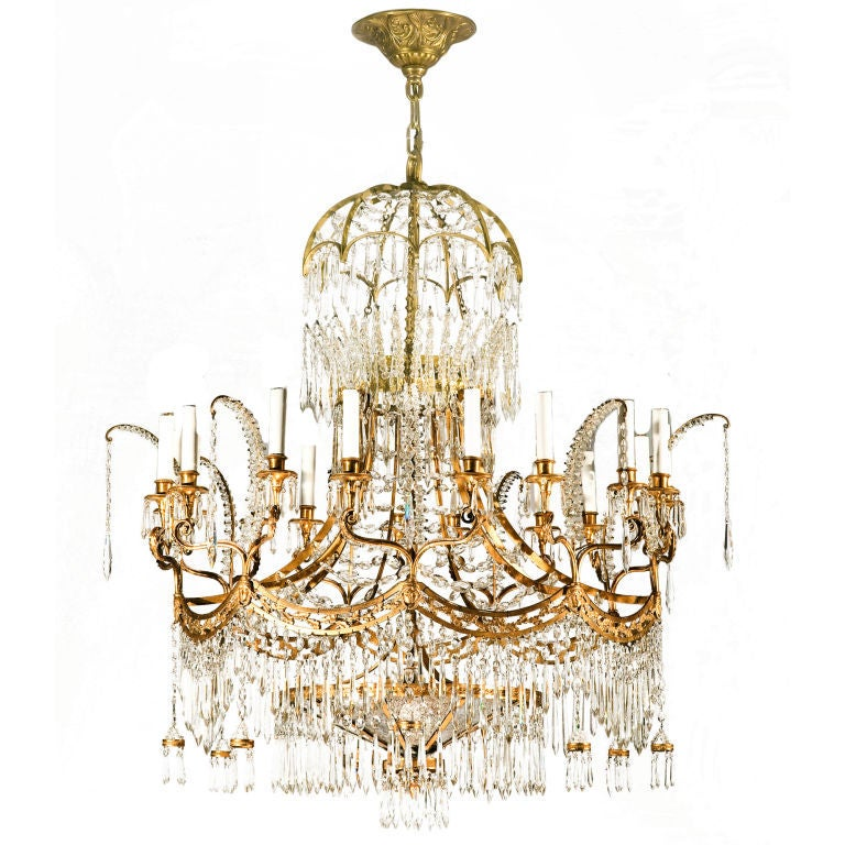 Bagues Neo Classic Design Chandelier At 1stdibs