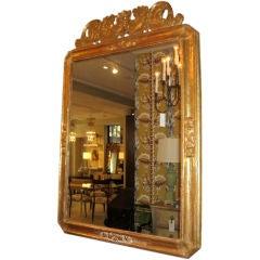 19th Century Italian Gilt over Wood Mirror