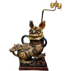 Dragon Design Table Lamp